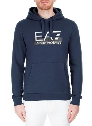 EA7 Emporio Armani  Sweat Erkek Sweat S 6Gpm17 Pj07Z 1554 Lacivert